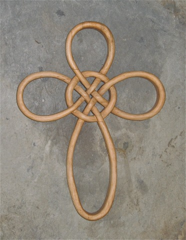 Celtic Knots And Welsh Spoons Wooden Crosses