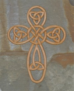 Custom Cross-Celtic Knot
