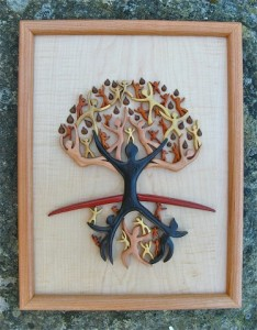 Custom Cross-Tree of Life design