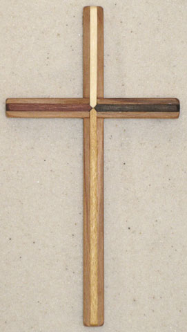 Centering Large Wooden Crosses